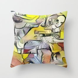 (Sk)in Passion 6 Throw Pillow