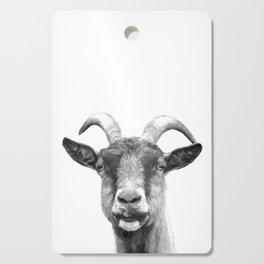 Black and White Goat Cutting Board