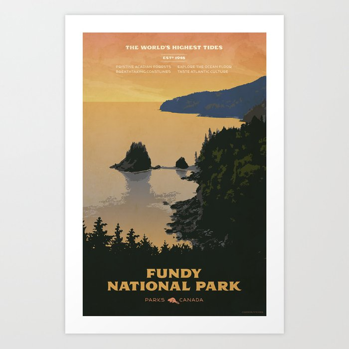 Fundy National Park Kunstdrucke