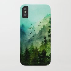 Mountain Morning iPhone X Slim Case