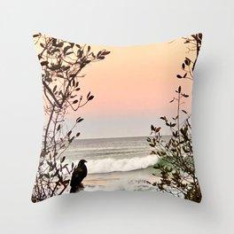 Falcon Sunrise  Throw Pillow