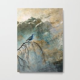 HEAVENLY BIRD II Metal Print