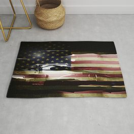 Casting Long Shadows Rug