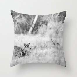 DONT WAKE THE BUCK Throw Pillow