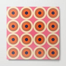 Nihoa 16 - Colorful Classic Abstract Minimal Retro 70s Style Graphic Design Metal Print