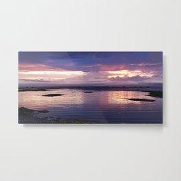 Sunset Split Metal Print