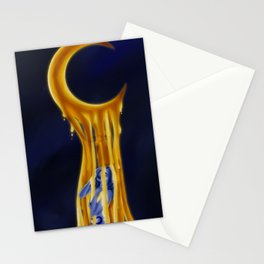 Weeping Moon Stationery Cards