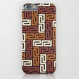 African Kuba Cloth 5 iPhone Case