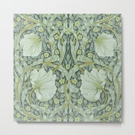 William Morris, Art nouveau pattern, beautiful art work, fabric pattern, belle époque,victorian,flor Metal Print