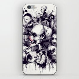 Scary Stories To Tell In The Dark iPhone Skin