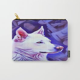 The White German Shepherd Carry-All Pouch