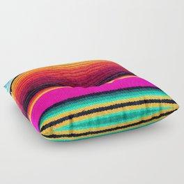 Magenta Sky Serape Floor Pillow