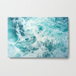 Ocean Sea Waves Metal Print
