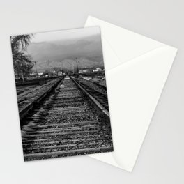 Wrong Side of the Tracks Stationery Cards