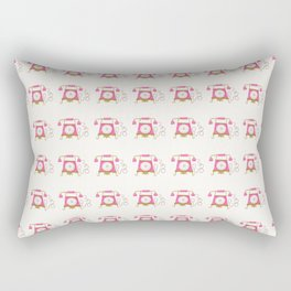 Pink Princess Classic Phone Rectangular Pillow