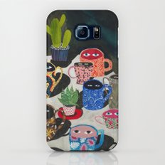 Suspicious mugs Galaxy S8 Slim Case
