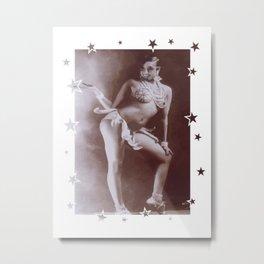 Josephine Baker - Banana Skirt Metal Print