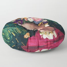 Frida Kahlo :: World Women's Day Floor Pillow