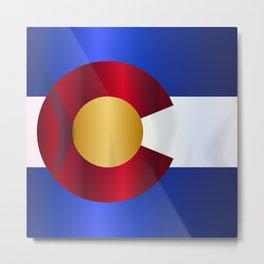 State Flag Of Colorado Metal Print