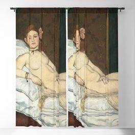 Olympia, Édouard Manet Blackout Curtain