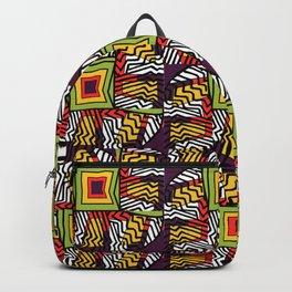 Geo Bursting Backpack