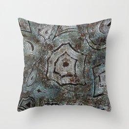 Malachite Throw Pillow