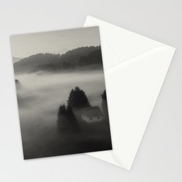 In the fog with you Stationery Cards