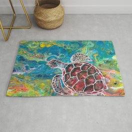 Sea Turtle Dream Rug