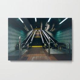 Roosevelt Island Underground Metal Print