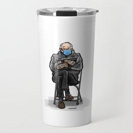 Bernie Mittens Travel Mug