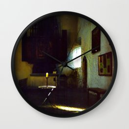 A Candle in the Dark Wall Clock