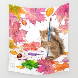 While We Were Sleeping Wall Tapestry