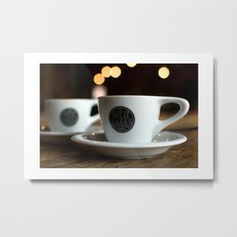 """there's too much caffeine in your bloodstream"" Metal Print"