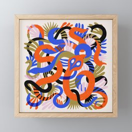 Snakes Framed Mini Art Print