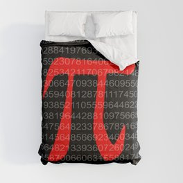 The Constant Pi Comforters