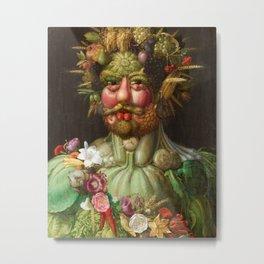 Giuseppe Arcimboldo - Vertumnus Metal Print