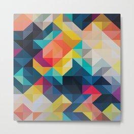 Modern Pattern No. 250 Metal Print