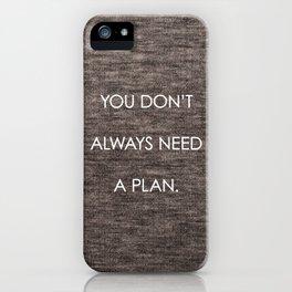 Plan iPhone Case