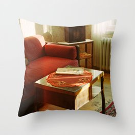 Stockholm: Skansen Room Interior Throw Pillow