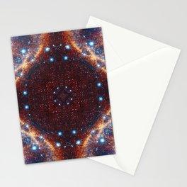 Galaxy Fractal Stationery Cards