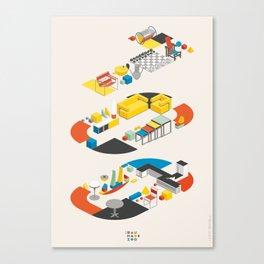 Bauhaus 100 Canvas Print