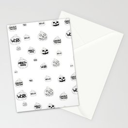 Scariest Pumpkins Around Stationery Cards