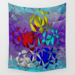 crackled -3- Wall Tapestry