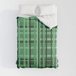 checkered Design green Comforters