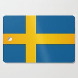 Flag of Sweden Cutting Board