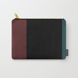 Contemporary Color Block XII Carry-All Pouch