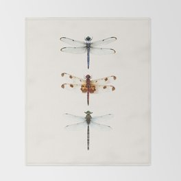 Dragonfly Collector Throw Blanket