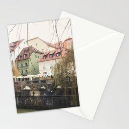 Ljubljana landscape Stationery Cards