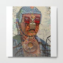 Discover Imperfection Metal Print