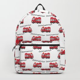 Firetruck Backpack